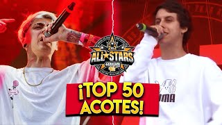 TOP 50 ACOTES😯- GOD LEVEL ALL STARS 2VS2 2019🇦🇷🇵🇪