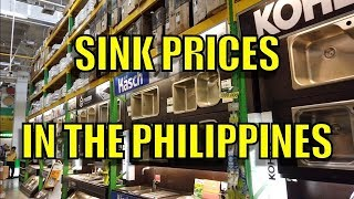 Sink Prices In The Philippines Youtube