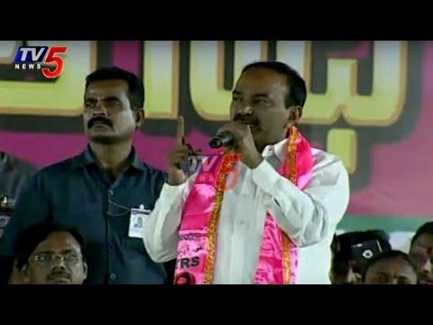 Finanace Minister Etela Rajender Speech | Janahita Pragathi Sabha in Jagtial | TV5 News