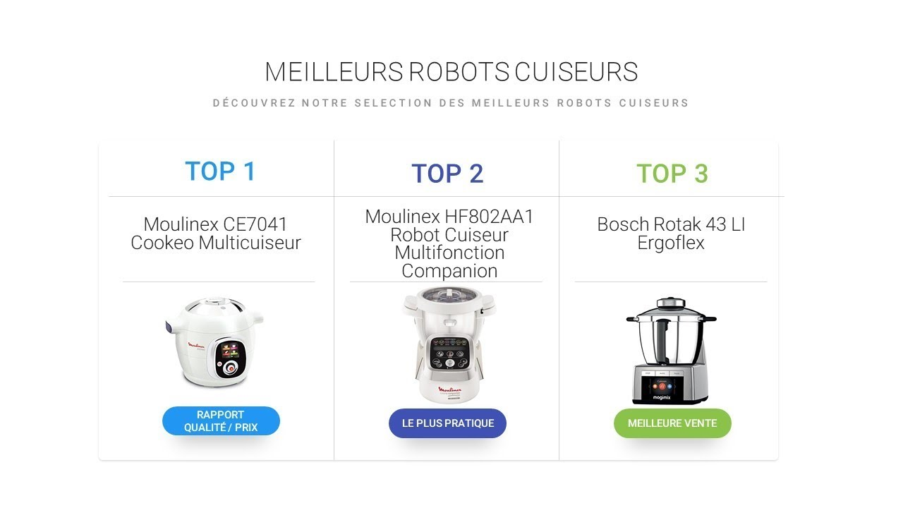 meilleur robot cuiseur comparatif des robots de cuisine. Black Bedroom Furniture Sets. Home Design Ideas