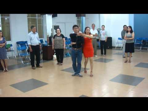 Pasodoble #1 L2&3 thầy Tuấn và cô Linh - 01/2015 cung VHLD lớp KVDS