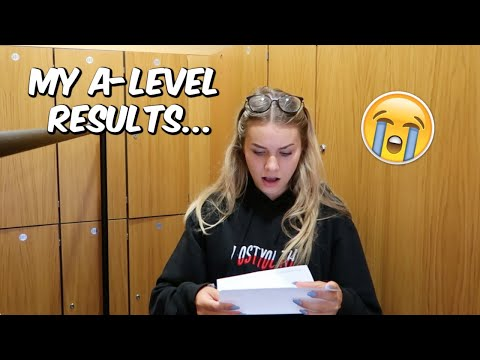 OPENING MY A - LEVEL RESULTS 2019 - live reaction