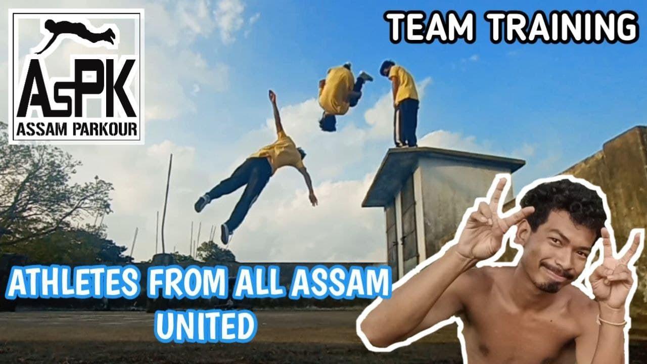 Assam Parkour Lockdown Team Training
