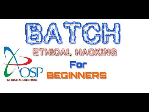 Ethical Hacking Using Batch (CMD) | How To Hack Wifi Password For Beginners