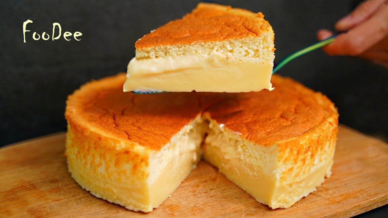 ВОЛШЕБНЫЙ ПИРОГ – при выпечке САМ разделяется на бисквит и заварной крем! Magic Cake