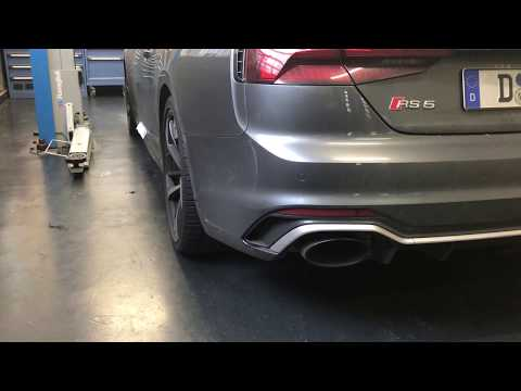 RS5 OEM Sport Exhaust Mod     Anyone Done This, or Bad Idea