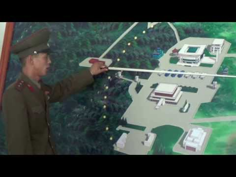 North Korean Border Guard Explains 38th Parallel