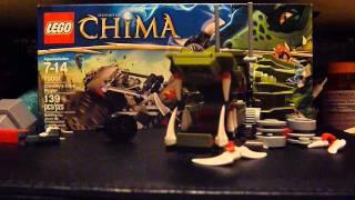 Let's Build! Ep 1 Lego Legends of Chima Set: 70001 (Part 2)