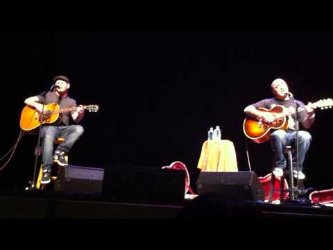 Corey Taylor and Aaron Lewis-Down in a Hole Live New Years Eve 2011