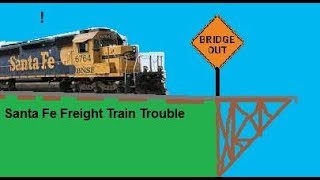 ROBLOX: Problemas en el tren de Santa Fe