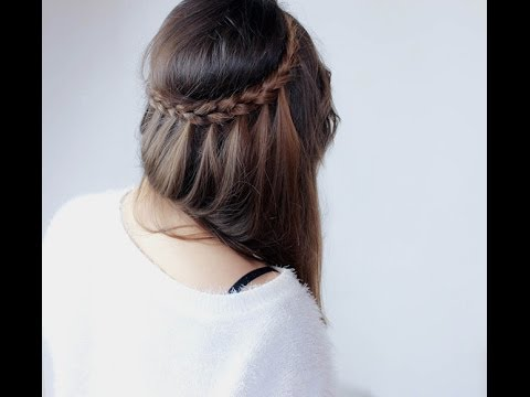 tutoriel coiffure 1 la tresse couronne sophistiqu e youtube. Black Bedroom Furniture Sets. Home Design Ideas