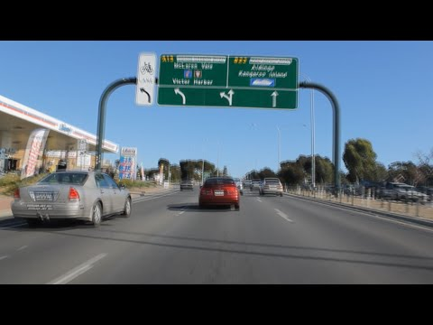 Adelaide to Victor Harbor Timelapse, South Australia