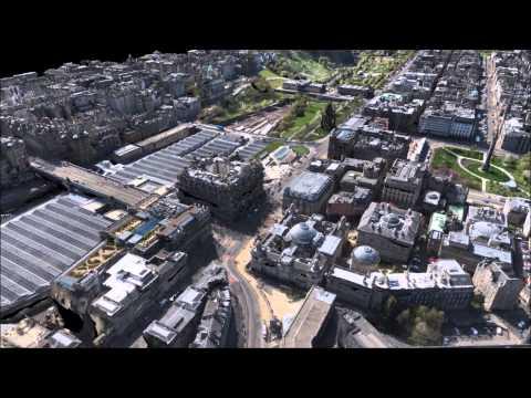 3D City Surveying: Aimee Lands in Edinburgh!