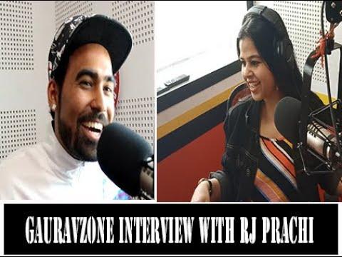Gauravzone's Interview on 93.5 Red Fm Chandigarh with Rj Prachi