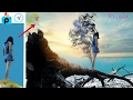 Picsart editing a girl on beach |Photography editing  in 2017 (Hindi)