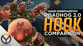 Overwatch: Roadhog Hook 2.0 vs. 1.0 Comparison
