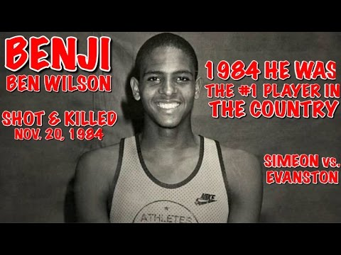 "1984 BEN WILSON HIGH SCHOOL GAME  ""SIMEON VS EVANSTON"""