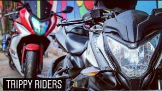 Superbike street racing? || Honda CBR650 Exhaust || NS200 crashed? || Delhi