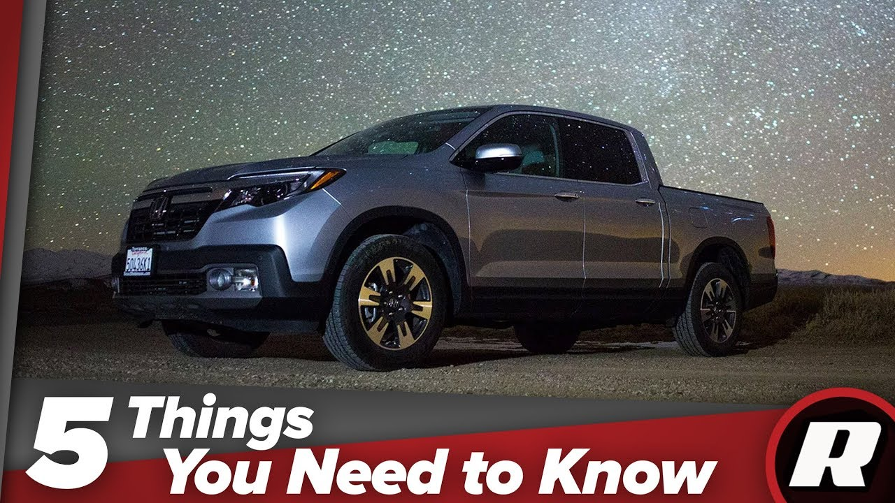 Five things you need to know about the the Honda Ridgeline - Dauer: 77 Sekunden