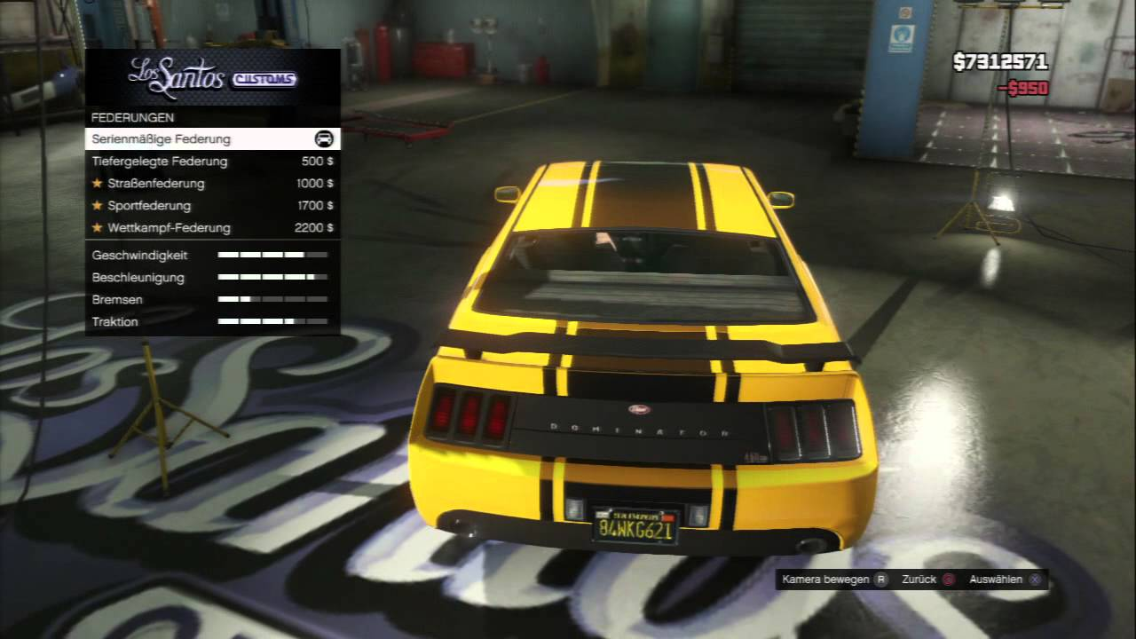 GTA 5 Vapid Dominator Tuning  Bumblebee Car   YouTube