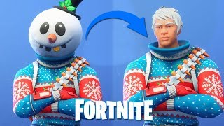 THEY TOOK THE MASK OFF! LOOK HOW FORTNITE SKINS ARE WITHOUT THE MASK!!!