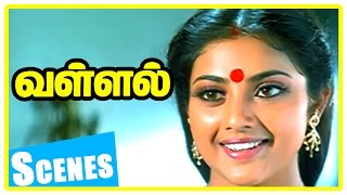 Vallal Tamil Movie Scenes | Sangeetha upset on Sathyaraj | Sangeetha insults Sathyaraj | Goundamani