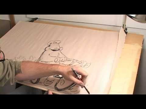 Cartoonist And Illustrator Dan Wright