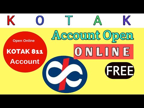 how-to-create-free-online-bank-account-|-kotak-811-|