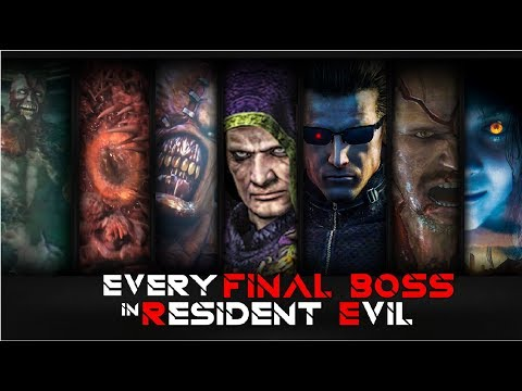FINAL BOSS in EVERY RESIDENT EVIL GAME AND THEIR FINAL FORM (Main Games) In Order Part 1