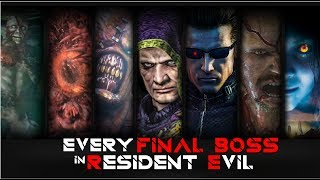 FINAL BOSS in EVERY RESIDENT EVIL GAMES AND THEIR FINAL FORM (Main Games) In Order Part 1