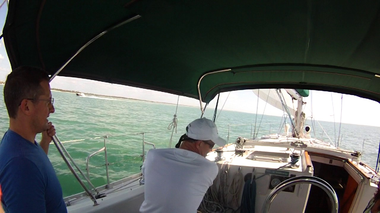 Offshore sailing school how to set your spinnaker youtube.