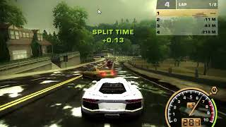 Test drive Lambo Aventador NFS most wanted 2005 and New Road