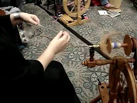 Spinning a dog's undercoat into soft, warm, clean-smelling yarn