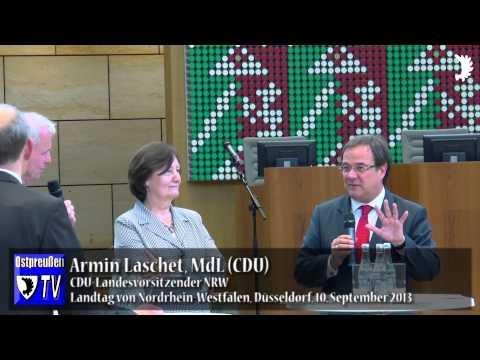Laschet warnt vor rot-grünen Mittelkürzungen bei der Kulturförderung nach § 96 BVFG