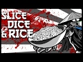 Let's Play Slice Dice & Rice Gameplay (NO HEALTH BARS?!)