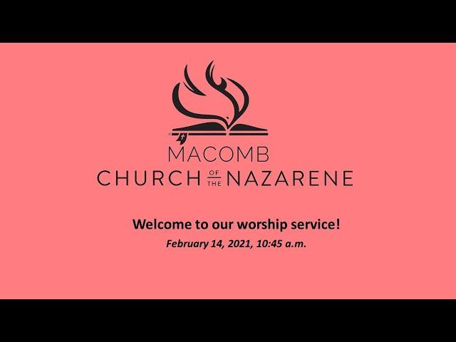 Sunday Morning Worship - February 14, 2021