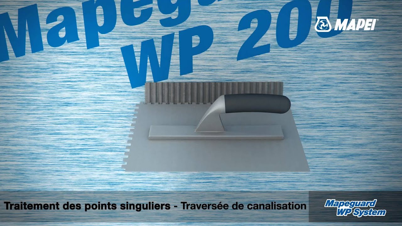 Mapeguard wp system protection et d tanch it sous for Etancheite sous carrelage