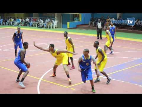 Rwanda U18 Basketball 61 - 57 Rwanda USA Diaspora / Amahoro15 July 2016