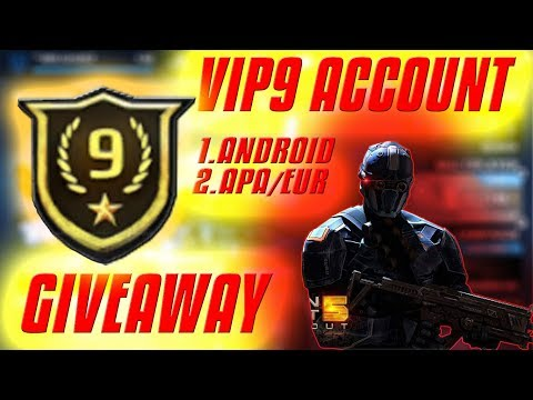MC5- VIP 9 PARAGON ACCOUNT GIVEAWAY, ANDROID and WINDOWS APA/EUR