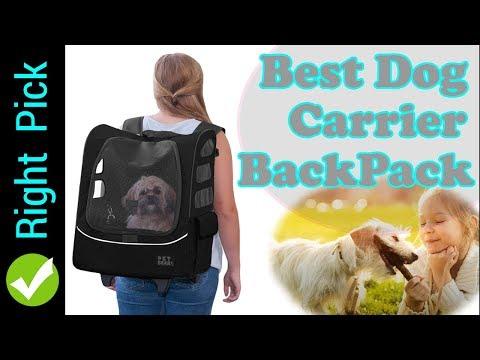 DOG CARRIER : 5 Best  Dog Carrier Backpacks | Best Pet Carrier Backpack