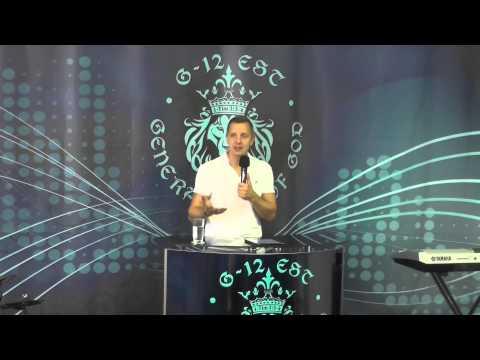 """Пастор Владимир Колесников """" Мой народ"""" Церковь """"Поколение Бога"""" G-12.Estonia"""
