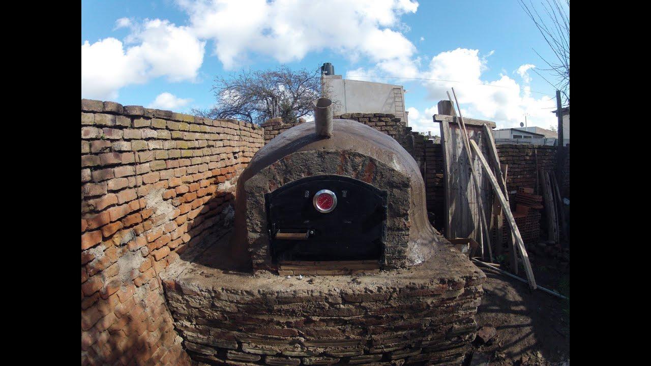 Construccion de horno de barro timelapse youtube - Hornos a lena construccion ...