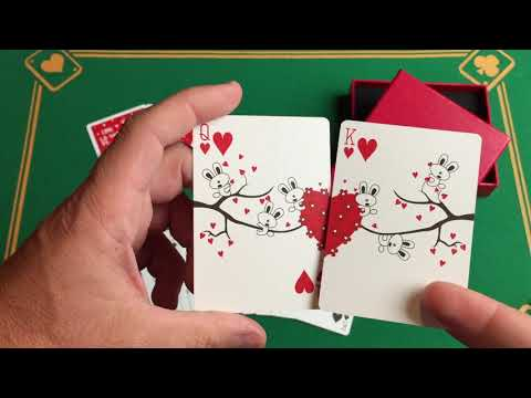 My Love Playing Card (con caja de regalo) video