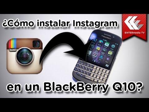 C mo instalar instagram en un tel fono celular blackberry for Telefono bb