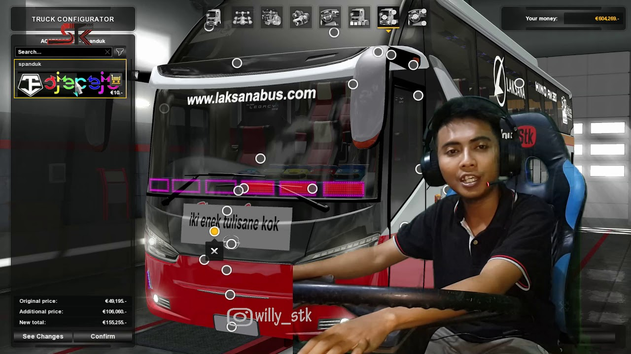 REVIEW : MOD SR 2 XHD New Hino RM 380 || by Ojepeje Team #1