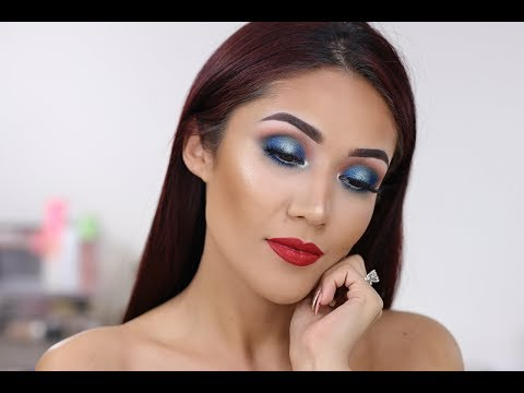 Makeup Tutorial for Memorial Day & 4th of July