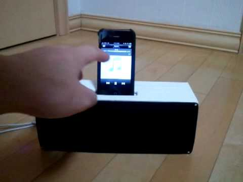 DIY iPhone4 Docking Speaker, recharger, ipod