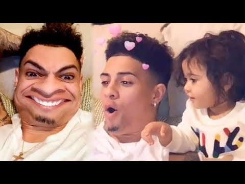 THE ACE FAMILY - AUSTIN AND ELLE TRYING OUT SNAPCHAT FILTERS (+GIVEAWAY)