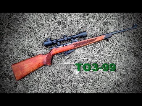 видео: ТОЗ-99 .22лр Промысловая мелкашка