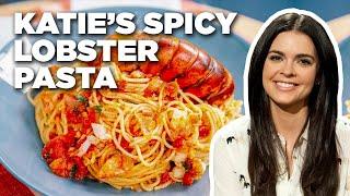 Spicy LOBSTER Pasta with Katie Lee  Food Network